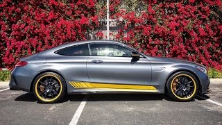 Mercedes-Benz C63 AMG Coupe Edition 1 2017 Videos