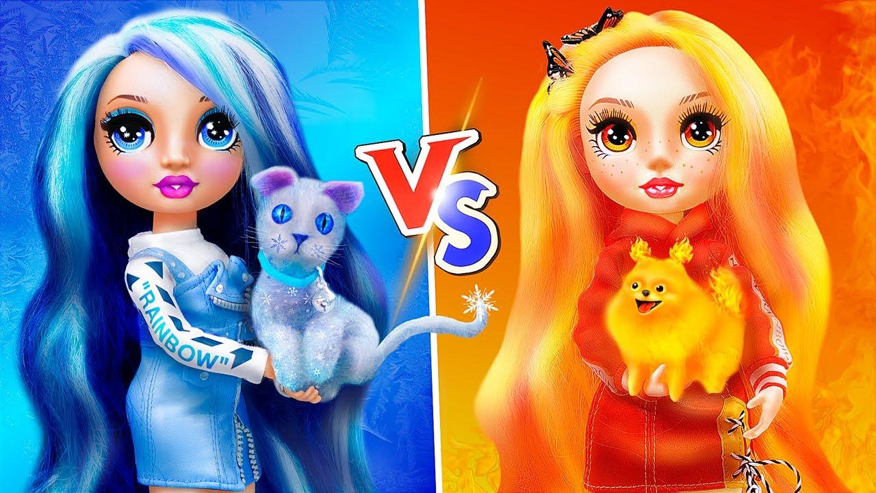Download Défi Chaud VS Froid / 12 Astuces Et Bricolages Barbie DIY