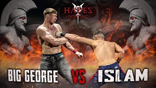 BIG GEORGE vs. Islam Gaydarov - KNOCKOUT SHOW OF THE EVENING! Hades Fighting 1 - RINGLIFE