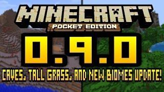 Mongol Minecraft: Minecraft PE 0.9.0 News ( Medee )