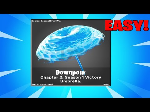 How To Get VICTORY ROYALE Umbrella In Fortnite Chapter 2 (Season 11)