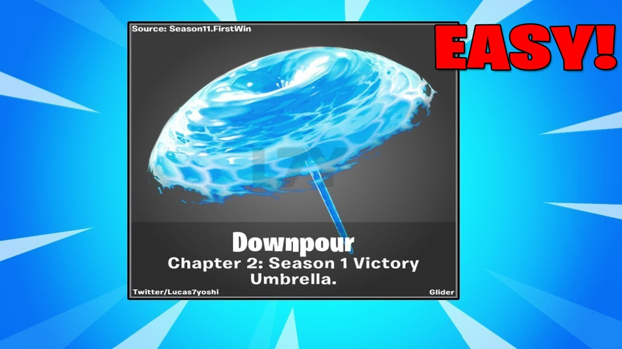 How To Get Victory Royale Umbrella In Fortnite Chapter 2 Season 11