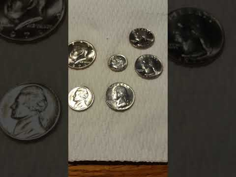 How to properly clean coins