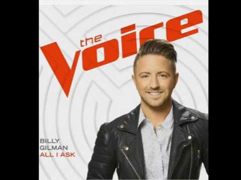 Billy Gilman - All I Ask (Studio Version The Voice)