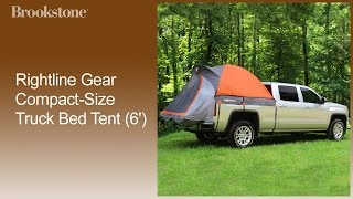 Rightline Gear Compact-size Truck Bed Tent (6') How To Use