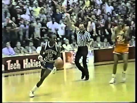 Virginia Tech beats #1 Memphis State 1986 - Basketball - YouTube