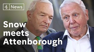 Sir David Attenborough interview with Jon Snow on climate change and politics