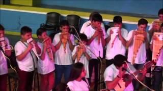 """""""Amanecer"""" - """"La Flor Azul"""" - """"Baila Caporal"""" - Orquesta Sonoridad Andina - Viedma (6/10)"""