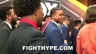 """SHAWN PORTER TELLS ERROL SPENCE """"YOU'RE A BULLY""""; CLOWN ABOUT THURMAN """"DUCKING"""" DISS"""