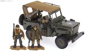 Mega Construx Call of Duty WWII Willys Jeep - Infantry Scout Vehicle review