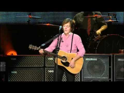 Paul McCartney en el Zocalo Ciudad de Mexico HD