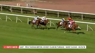 Vidéo de la course PMU PRIX THOMAS BRYON JOCKEY CLUB DE TURQUIE