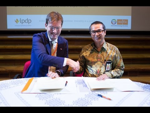 Indonesia and the Netherlands invest in a joint future