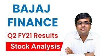 Bajaj Finance Ltd - Stock Analysis | Q2 FY21 Results Analysis