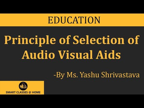 Audio Visual Aids Lecture, BEd by Ms  Yashu Shrivastava
