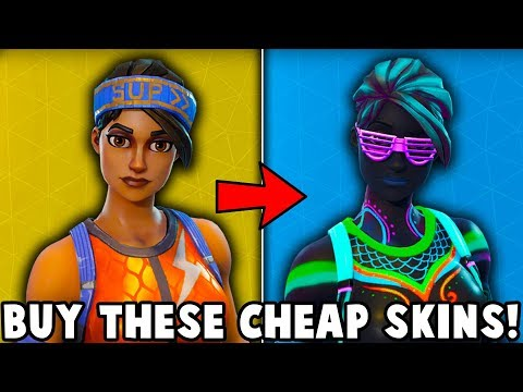 5 BEST SKINS TO BUY ON A BUDGET in Fortnite (these skins are cheap)