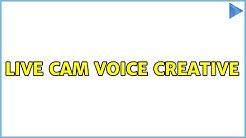 Ubuntu: Live cam voice creative