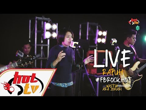 (LIVE) - RAPUH - ARA JOHARI : FB ROCK HOT