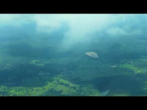 The iconic Sigiriya Rock Fortress and the Pidurangala Rock