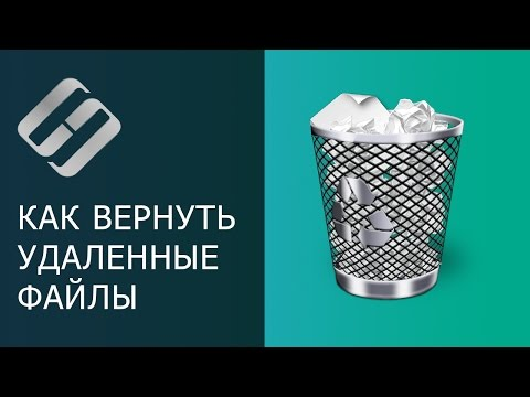 Как восстановить файл удаленный из корзины windows 10