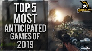 Top 5 Most Anticipated Games Of 2019  Upcoming Games Of Late 2019