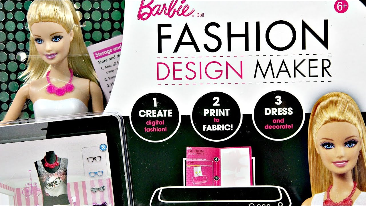 Barbie Fashion Design Maker Barbie Studio Projektowe