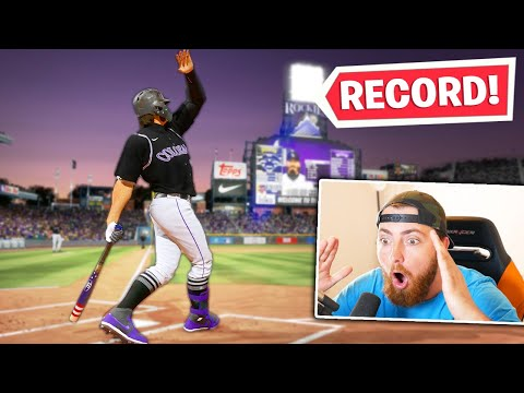 The LONGEST HOME RUN EVER HIT!! MLB The Show 20   Road To The Show Gameplay #221