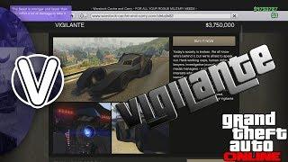 GTA 5 Online | Vigilante Is It Worth It? (GTA 5 Online DLC Vehicles)