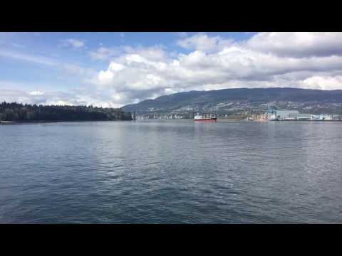 Timelapse Vancouver Shipping