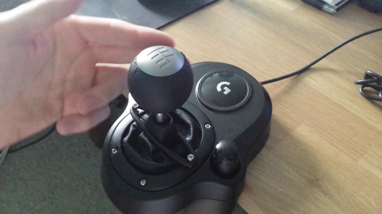 Logitech G29 Shifter Sequential Mod
