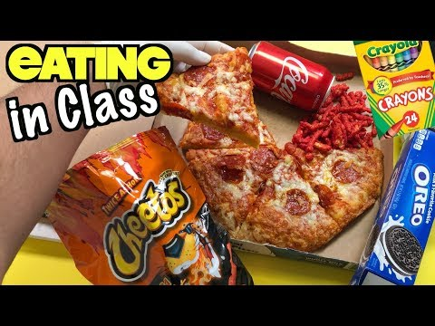 20 Creative Ways To Sneak Food and Candy Into Class Using School Supplies | Nextraker
