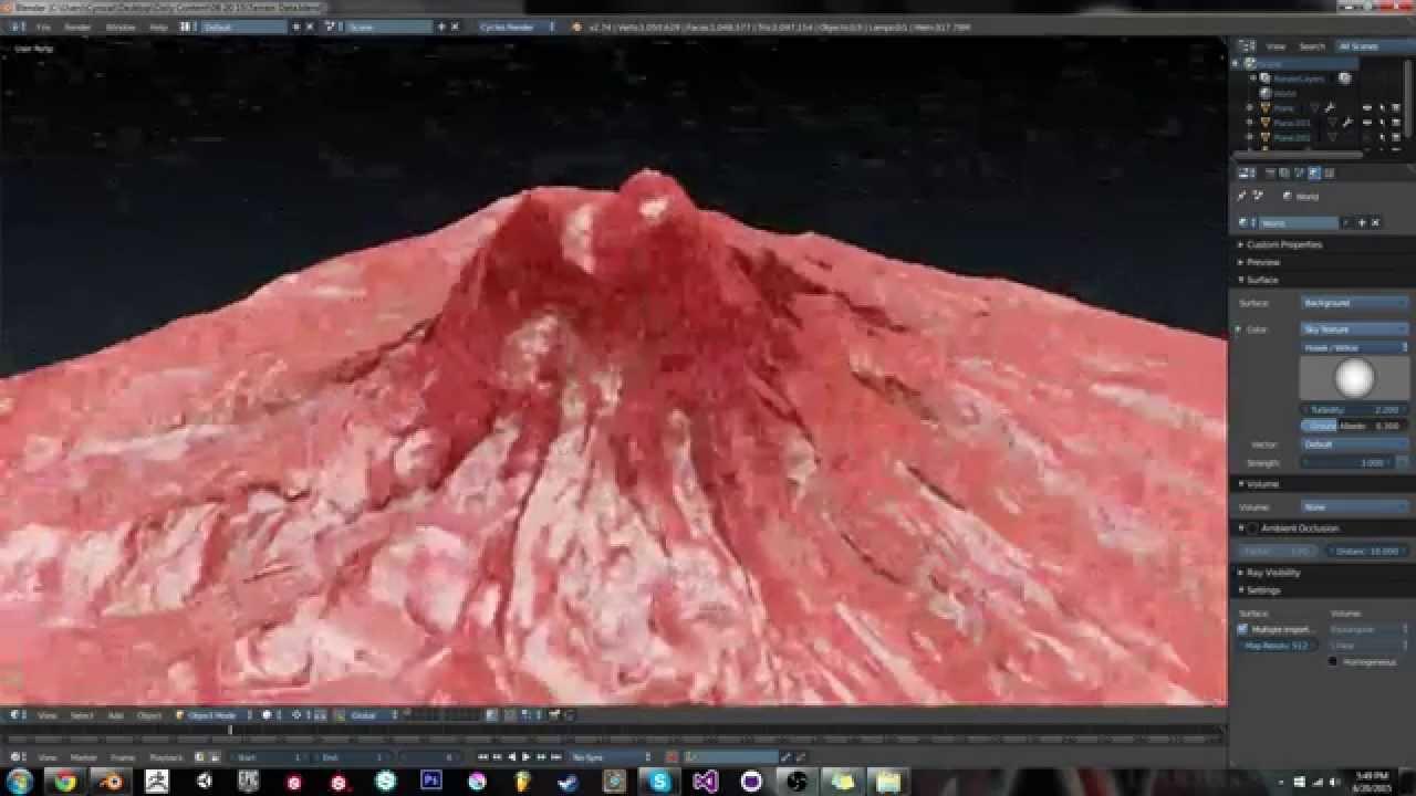 Blender Tip: Real World Terrain In Blender