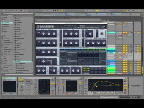 Ableton Remake: Matt Simons Catch Release (Deepend Remix, Lose Control) - Tutorial w Massive