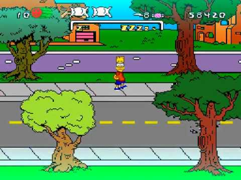 The Simpsons: Bart's Nightmare Fullplay (SNES)