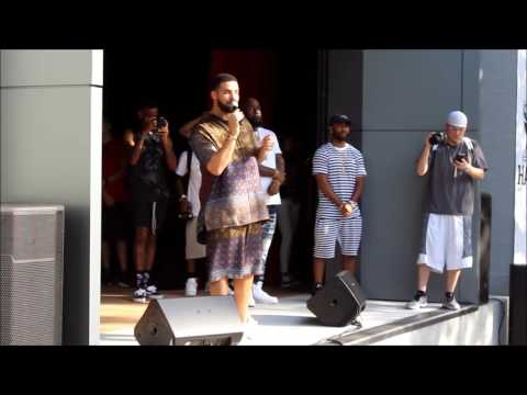 Drake kicks off Drake's Houston Appreciation Weekend 2017 #HAW #OVO