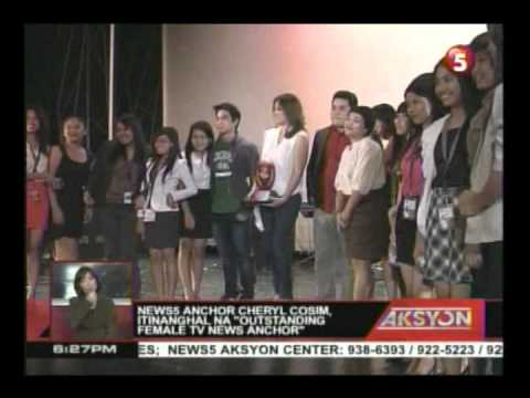 news5 anchor Cheryl Cosim, itinanghal na 'outstanding female tv news anchor'