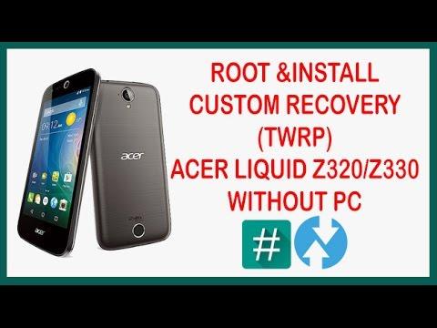 рут права для acer z330 без компьютера