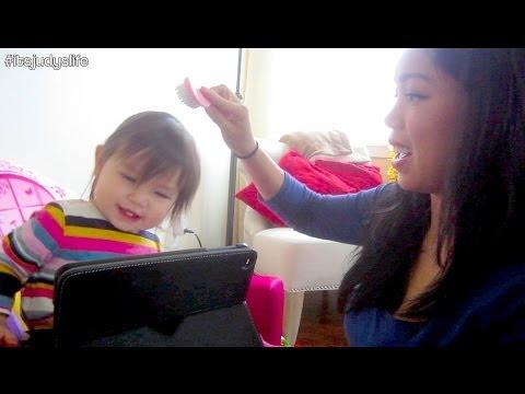 JULIANNA GETS A HAIRCUT!!! - January 17, 2014 - itsJudysLife Vlog