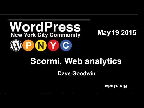 Introduction to Scormi, a web analytics tool for WordPress