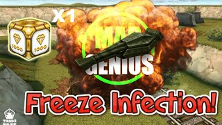 Freeze Infection Mini Game & GOLD BOX!! - Tankionline | M4D_GENiUS