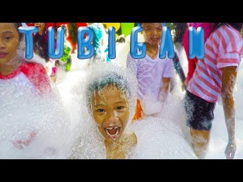 FOAM BATH, WATER PARK, SAFARI TRAIN, POOL PLAYGROUND AT TUBIGAN GARDEN RESORT, DASMARINAS