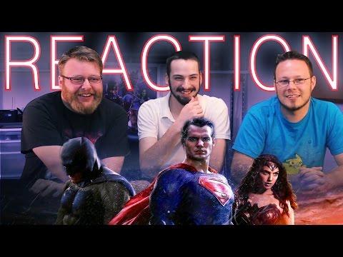 Batman V Superman: Dawn of Justice REACTION San Diego Comic Con