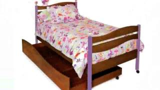 Trundle Toddler Bed
