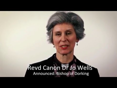 Meet the new Bishop of Dorking the Revd Canon Dr Jo Wells
