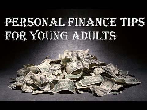 Personal Finance Tips For Young Adults - 18 years old, college, car, rent