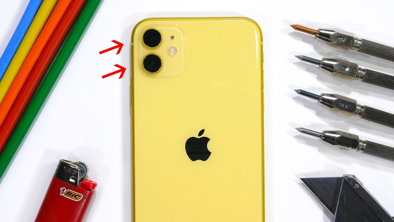 iPhone 11 Durability Test! – is the 'cheap' iPhone different?