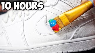 Customizing Shoes For 10 Hours - Challenge