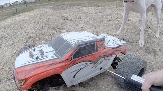 Losi LST XXL 2 First Bashing Session And It's a Good One- Tank 5