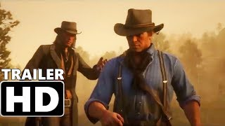 RED DEAD REDEMPTION 2 - Official Launch Trailer (2018) Rockstar Action, Adventure Video Game