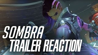 Overwatch | Sombra Blizzcon Reveal Reaction!